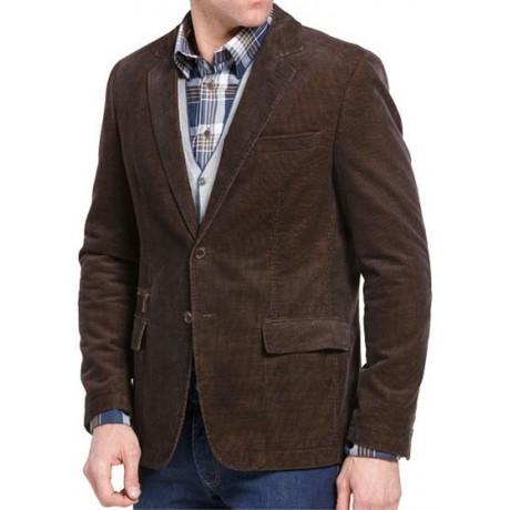 Пиджак вельветовый коричневый W.Wegener модель Nick 6-848/36