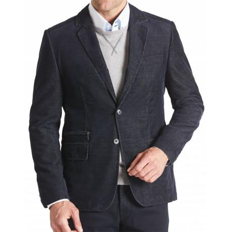Пиджак вельветовый серый W.Wegener модель Nick 6-848/08