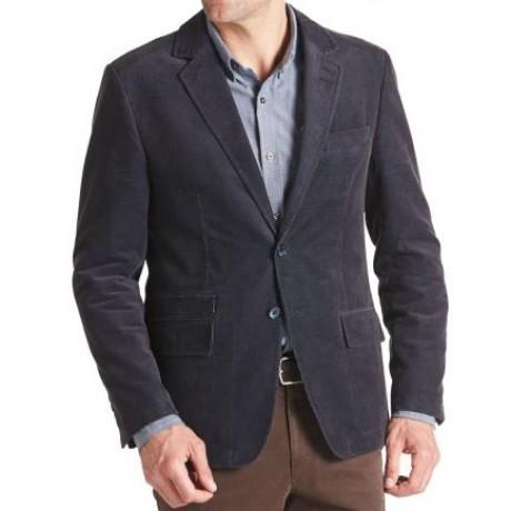 Пиджак вельветовый синий W.Wegener модель Nick 6-848/19