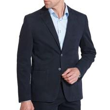 Пиджак мужской W.Wegener модель Kenny 6-469/19 темно-синий хлопковый