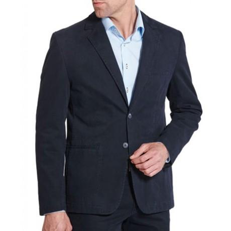Пиджак мужской W.Wegener модель Kenny 6-469/19 темно-синий