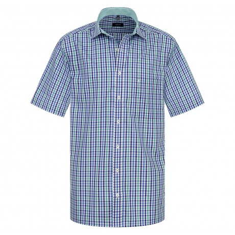 Рубашка мужская Eterna короткий рукав 4536/45