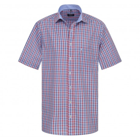 Рубашка мужская Eterna короткий рукав 4620/52
