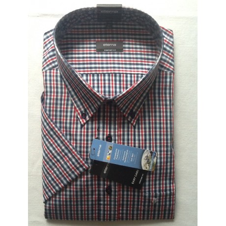 Рубашка мужская Eterna короткий рукав 8995/55