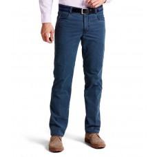 Брюки мужские Meyer Diego 6-488/18, цвет синий-джинсовый. Термо-брюки