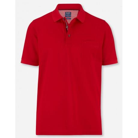 Поло Olymp 54015233 красного цвета