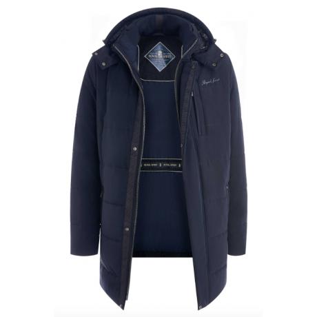 Куртка зимняя мужская Royal Spirit, модель Бриттен-G с капюшоном