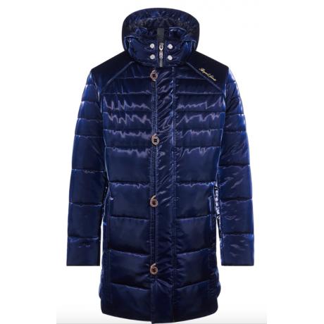 Куртка зимняя мужская Royal Spirit, модель Дебюсси с капюшоном