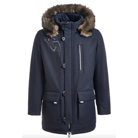 Куртка-парка зимняя мужская Royal Spirit, модель Шабрие с капюшоном