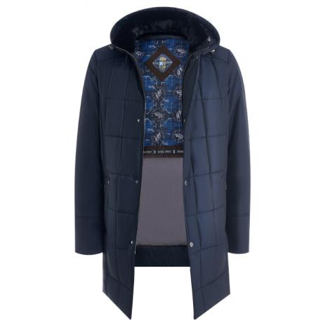 Куртка зимняя мужская Royal Spirit, модель Адамс-G с капюшоном