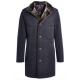 Куртка-пальто зимняя мужская Royal Spirit, модель Агат классическая