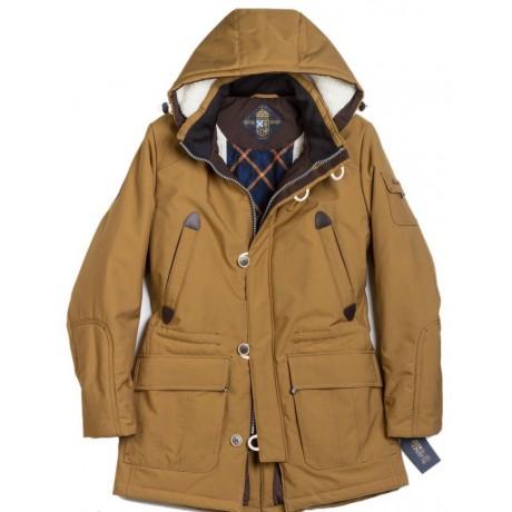 Куртка зимняя мужская Royal Spirit, модель Флинт, парка с капюшоном роял спирит