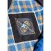 Ветровка весенняя мужская Royal Spirit, модель Франклин темно-синяя