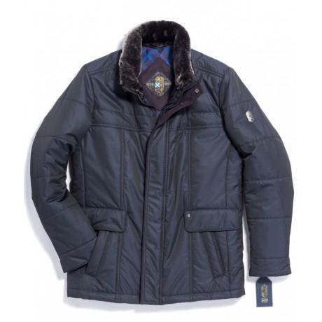 Куртка зимняя мужская Royal Spirit, модель Ларец синяя