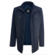 Куртка демисезонная мужская Royal Spirit, модель Марли синяя стеганная