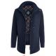 Куртка демисезонная мужская Royal Spirit, модель Шенберг хлопковая с капюшоном