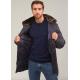 Куртка зимняя мужская Royal Spirit, модель Свифт на пуху синяя