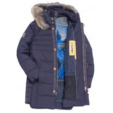 Куртка-Парка зимняя мужская Royal Spirit, модель Вивальди синяя