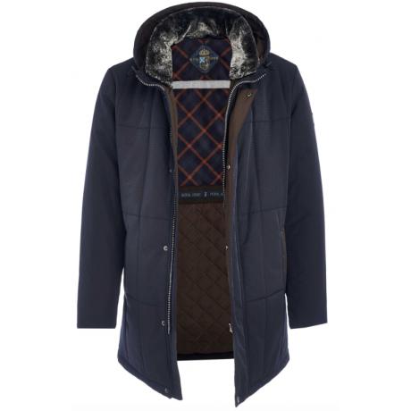 Куртка зимняя мужская Royal Spirit, модель Яшма-G с капюшоном