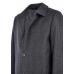 Пальто мужское Royal Spirit, модель Фауст серое