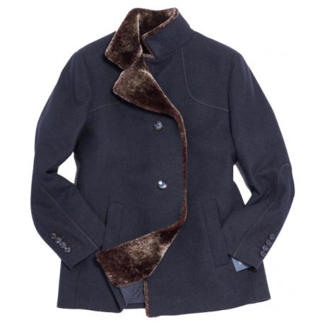 Пальто мужское Royal Spirit, модель Голдинг синее