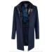 Пальто мужское Royal Spirit, модель Киплинг синее