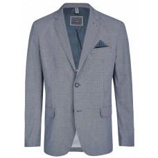 Пиджак Calamar 142400/1007/07 хлопковый, комфортный, серо-синий