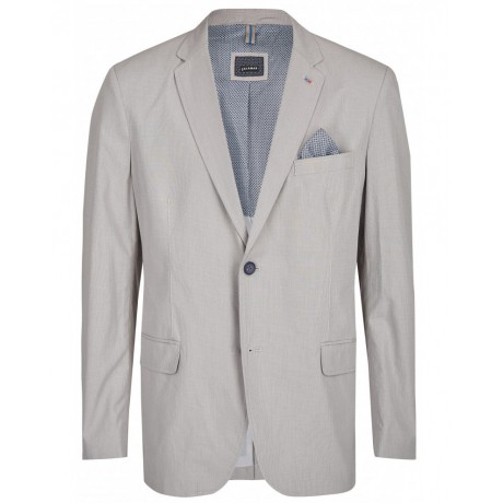 Пиджак Calamar 142400/7115/06 хлопковый, комфортный, светло-серый