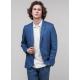 Пиджак мужской Royal Spirit, модель Джинс, летний, льняной, голубой