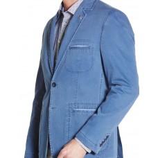 Пиджак W.Wegener модель Kenny 2S 5404/17 хлопковый голубой