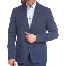 Пиджак W.Wegener модель Kenny 5-554/17 летний хлопковый, светло-синий