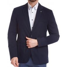 Пиджак W.Wegener модель Kenny 5-554/19 летний хлопковый, темно-синий