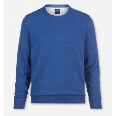 Пуловер мужской Olymp 01601113, светло-синий хлопковый