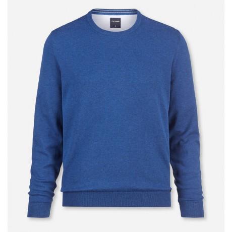 Пуловер мужской Olymp 01601113, Modern Fit светло-синий