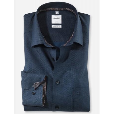 Рубашка мужская Olymp 10626418, Comfort fit, синяя