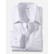 Рубашка мужская Olymp 02506400, Comfort fit, белая гладкая