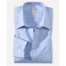 Рубашка мужская Olymp 02506415, Comfort fit, голубая гладкая