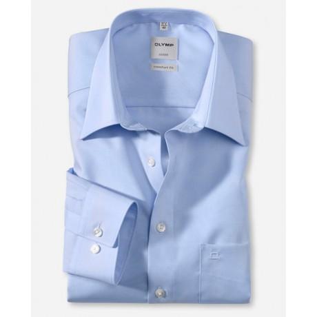 Рубашка мужская Olymp 02506415, Comfort fit, голубая