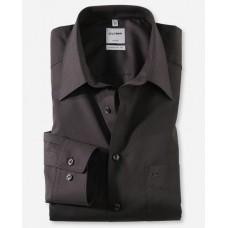 Рубашка мужская Olymp 02506468, Comfort fit, черная гладкая