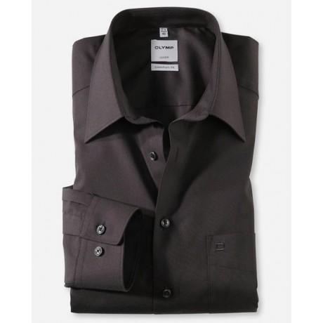 Рубашка мужская Olymp 02506468, Comfort fit, чёрная