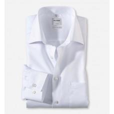 Рубашка мужская Olymp 02546400, Comfort fit, белая гладкая