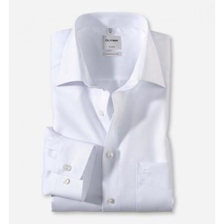 Рубашка мужская Olymp 02546400, Comfort fit, белая