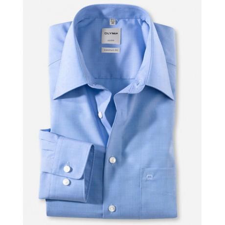 Рубашка мужская Olymp 02556415, Comfort fit, голубая