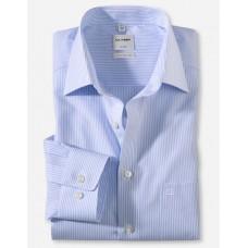 Рубашка мужская Olymp 02806411, Comfort fit, голубая в полоску