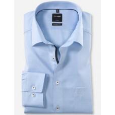 Рубашка мужская Olymp 10224411, Comfort fit, голубая в точку