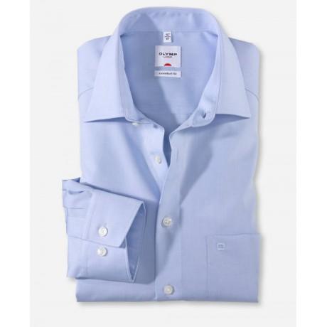Рубашка мужская Olymp 51316411, Comfort fit, голубая