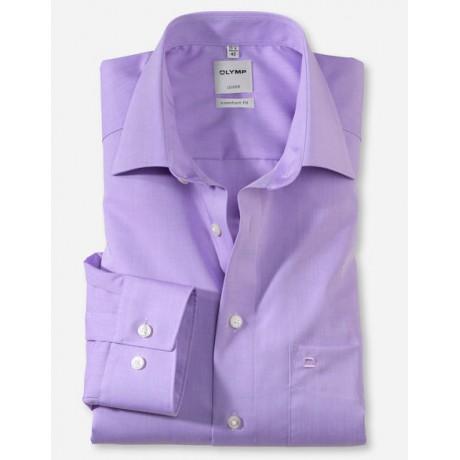 Рубашка мужская Olymp 51316471, Comfort fit, фиолетовая