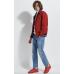Ветровка весенняя мужская Royal Spirit, модель Саграда красная